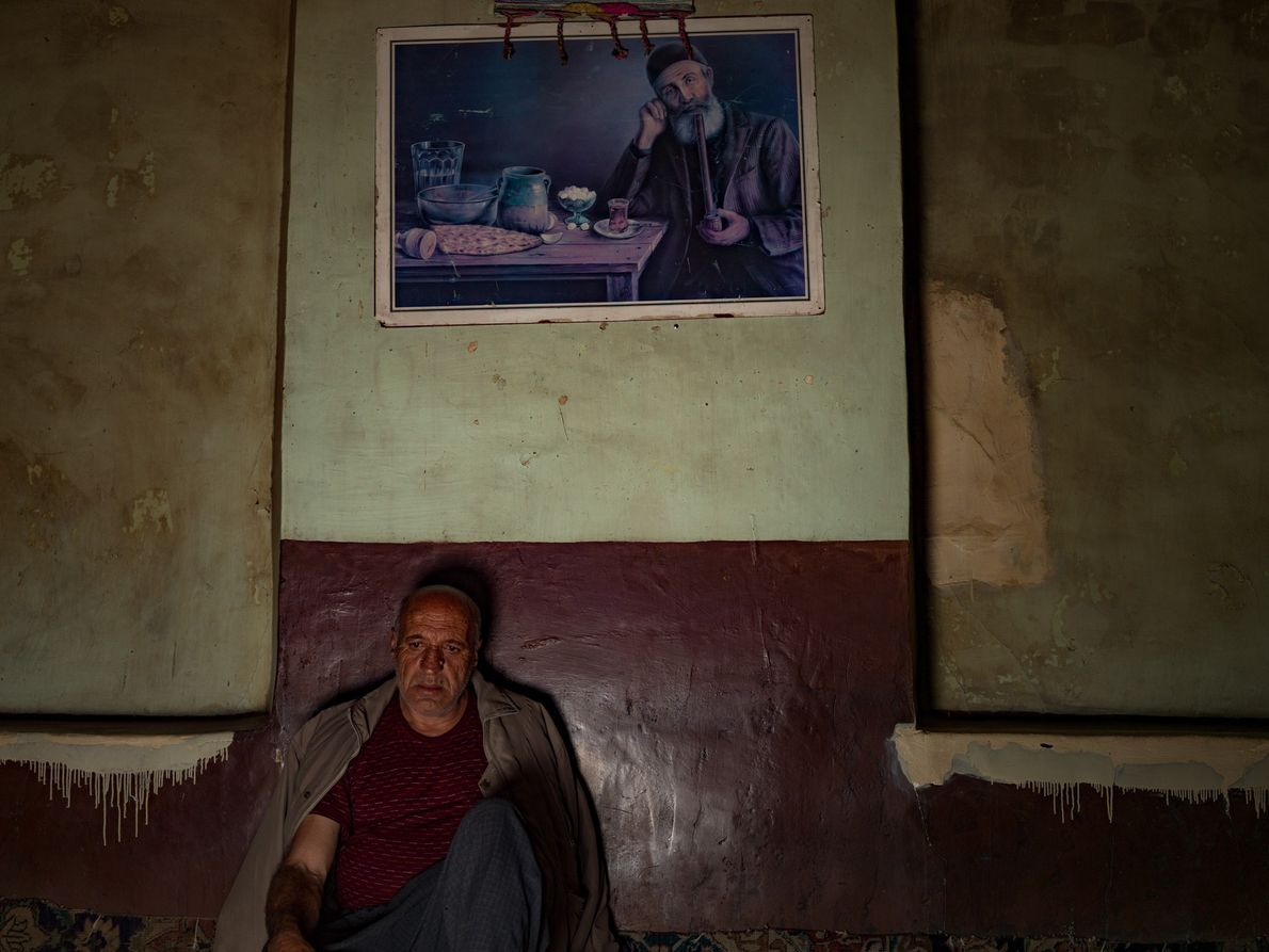 Maohammad Azmodeh and his family have owned this coffeehouse for over 85 years. Fifteen years ago ...