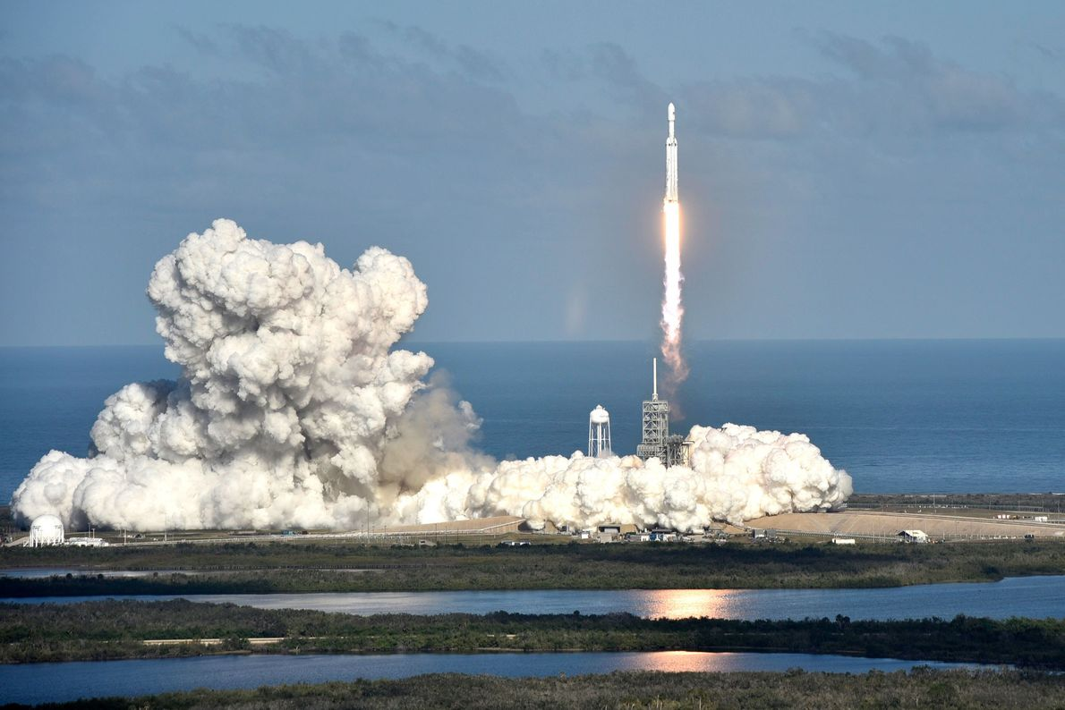 In its latest milestone moment, SpaceX successfully launched its Falcon Heavy rocket for the first time ...
