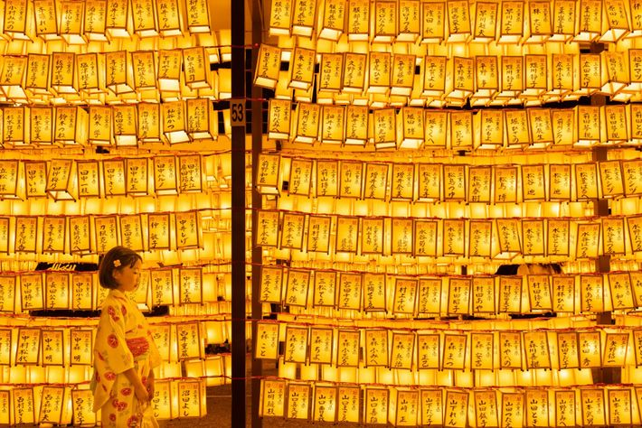 """""""I took this photo at a Mitama Festival held at the Yasukuni Shrine in Tokyo,"""" writes ..."""