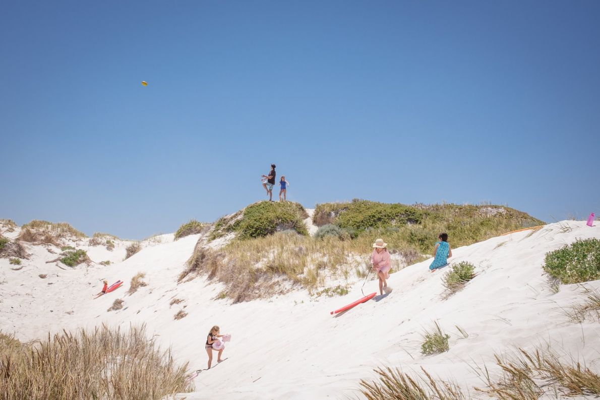 """""""On January 1st, 2019, we make it very early to the Lancelin back beach,"""" writes Your ..."""