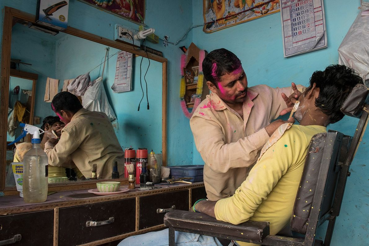 Most shops remain closed during Holi festival, but some businesses continue operating — normally at a ...