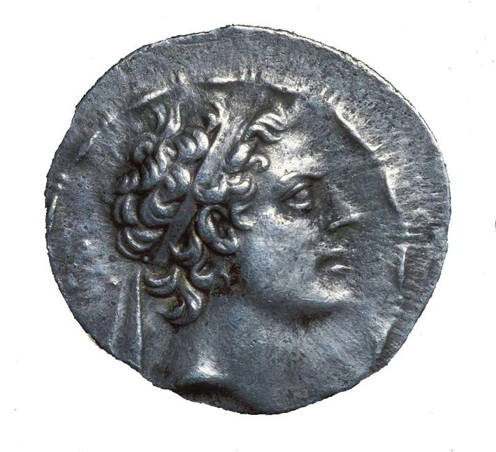 King Antiochus IV Epiphanes ruled the Seleucid Empire from 175 to 164 B.C.