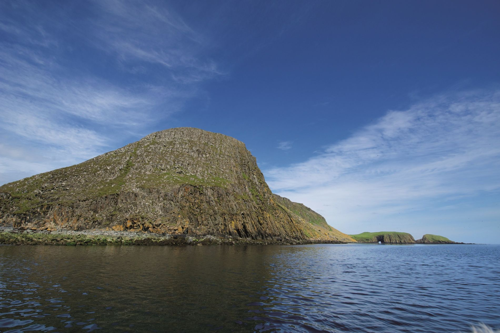 The Shiant Isles in the Outer Hebrides, United Kingdom