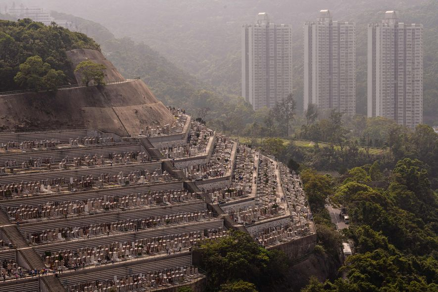In the eerily named neighborhood of Happy Valley, the living aren't the only ones who get …