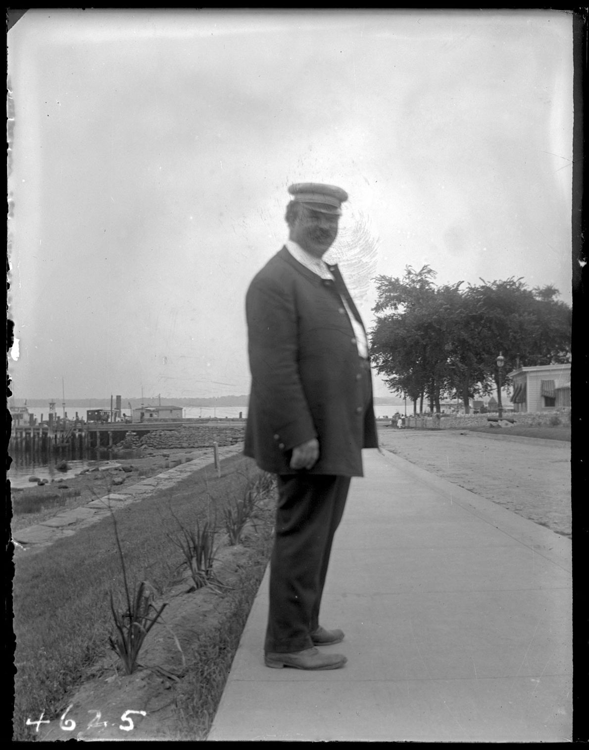 A reformatory keeper c. 1913. Keepers were notoriously cruel: A 1915 investigation found guards doled out ...