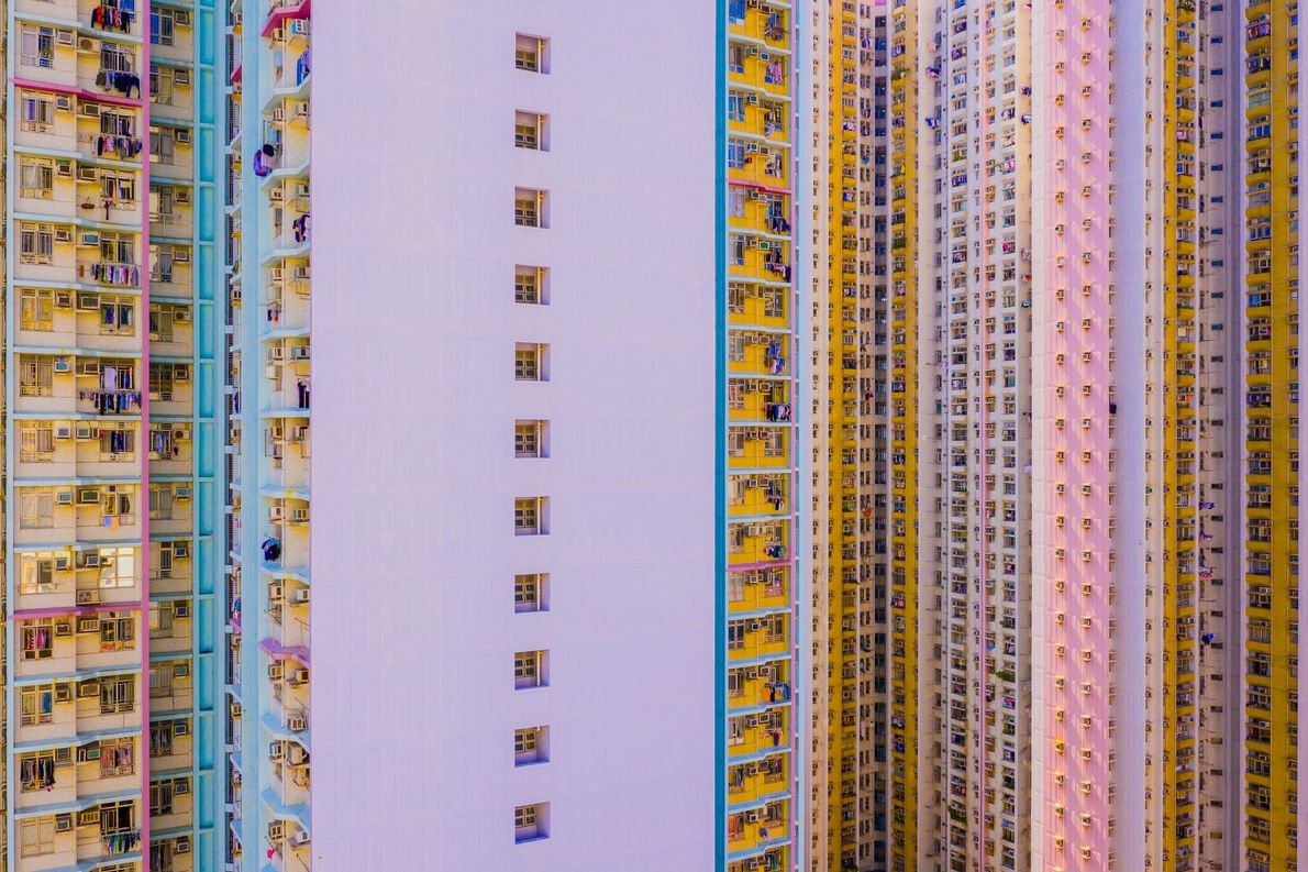 """Hong Kong is one of the most densely populated areas in the world, with an overall ..."