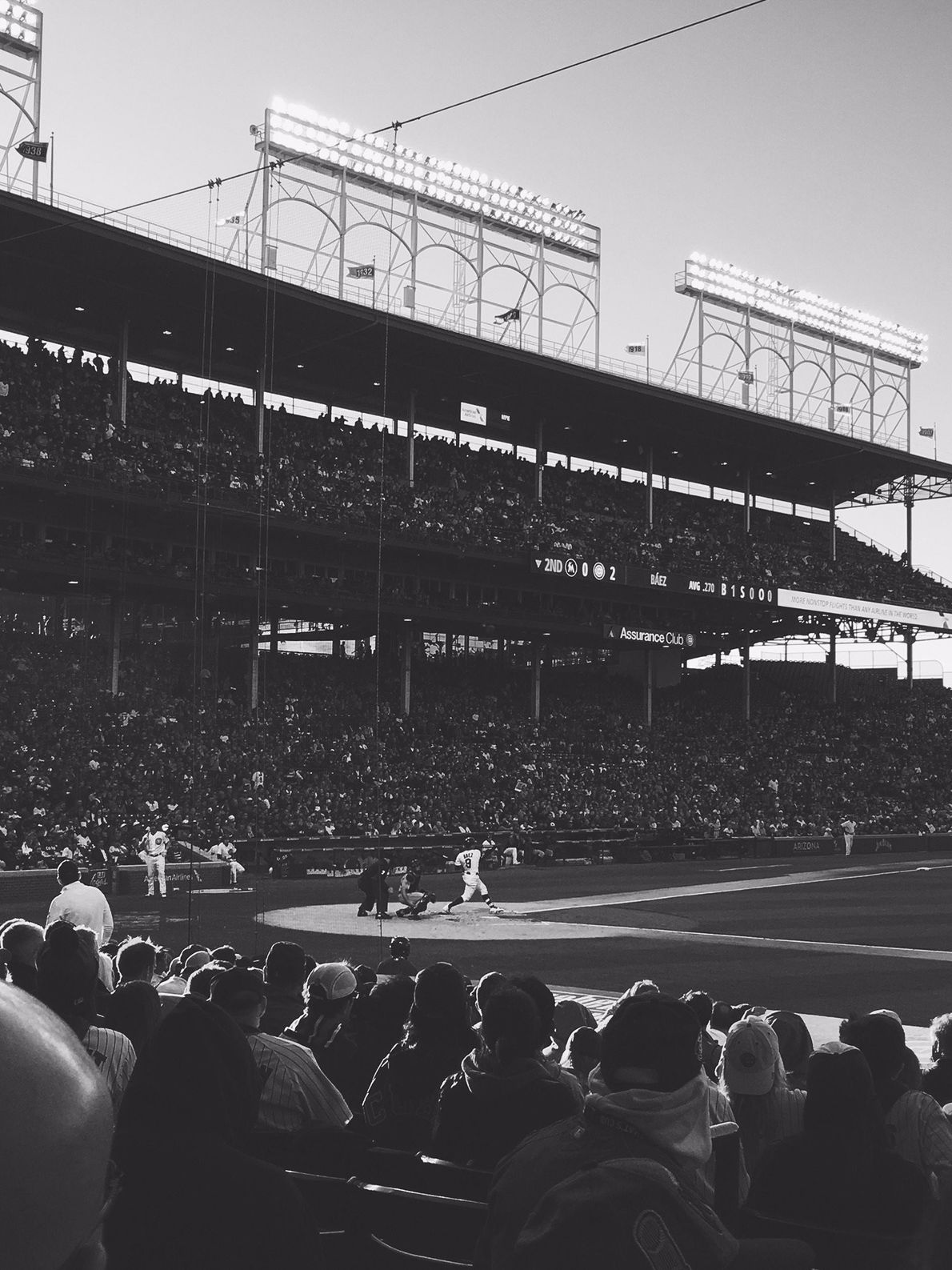 """""""A beautiful day at Wrigley,"""" writes Your Shot photographer Victoria M. """"There's nothing better than seeing ..."""