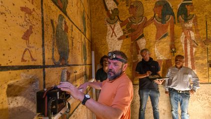It's Official: Tut's Tomb Has No Hidden Chambers After All