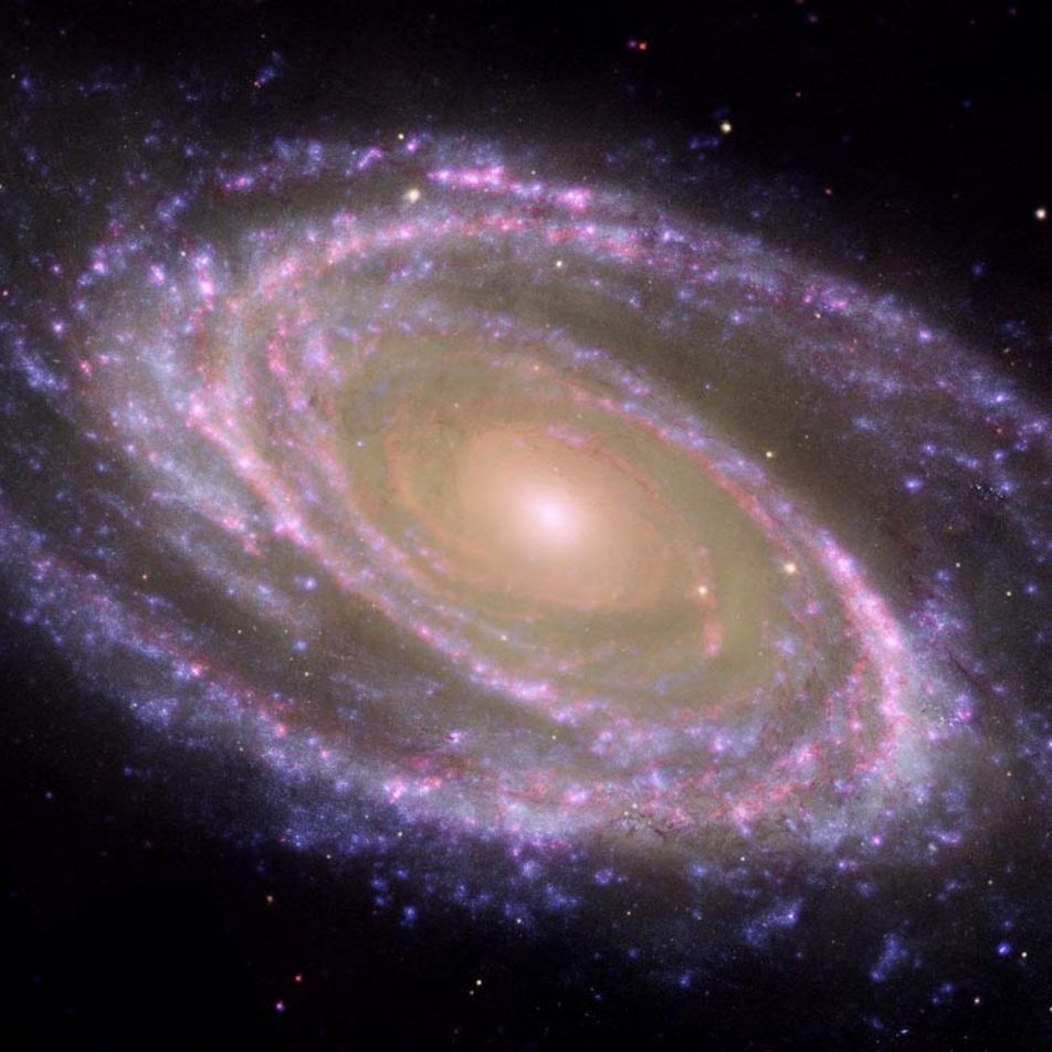 Breathtaking images of distant galaxies