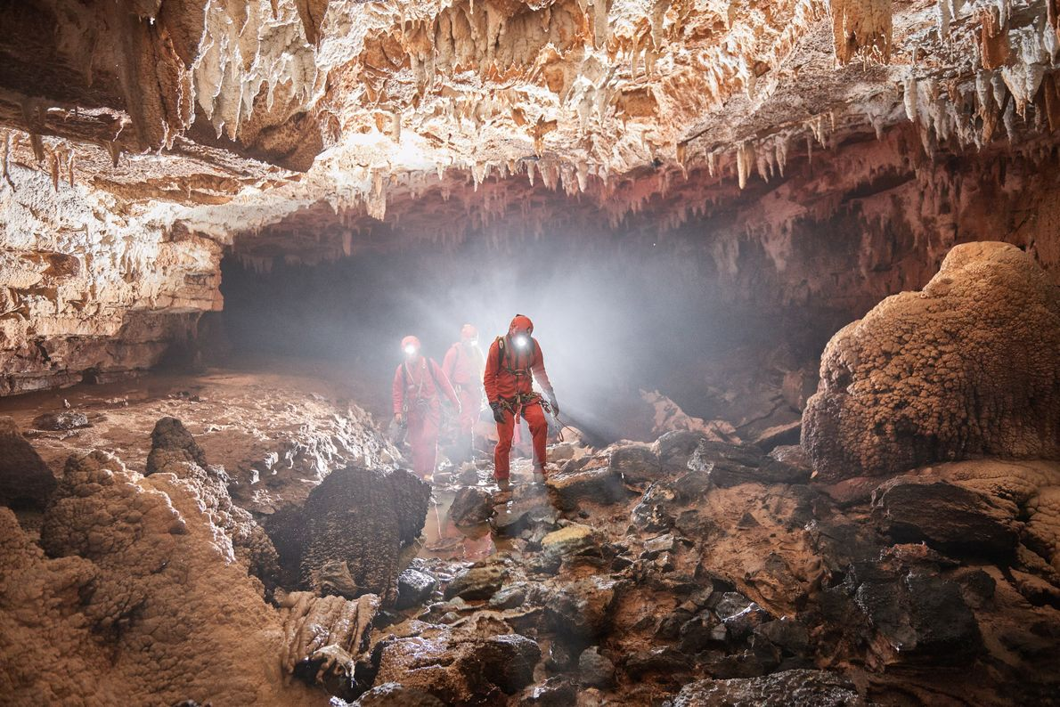 Journey to the centre of the earth. If you're serious about getting under the surface of ...