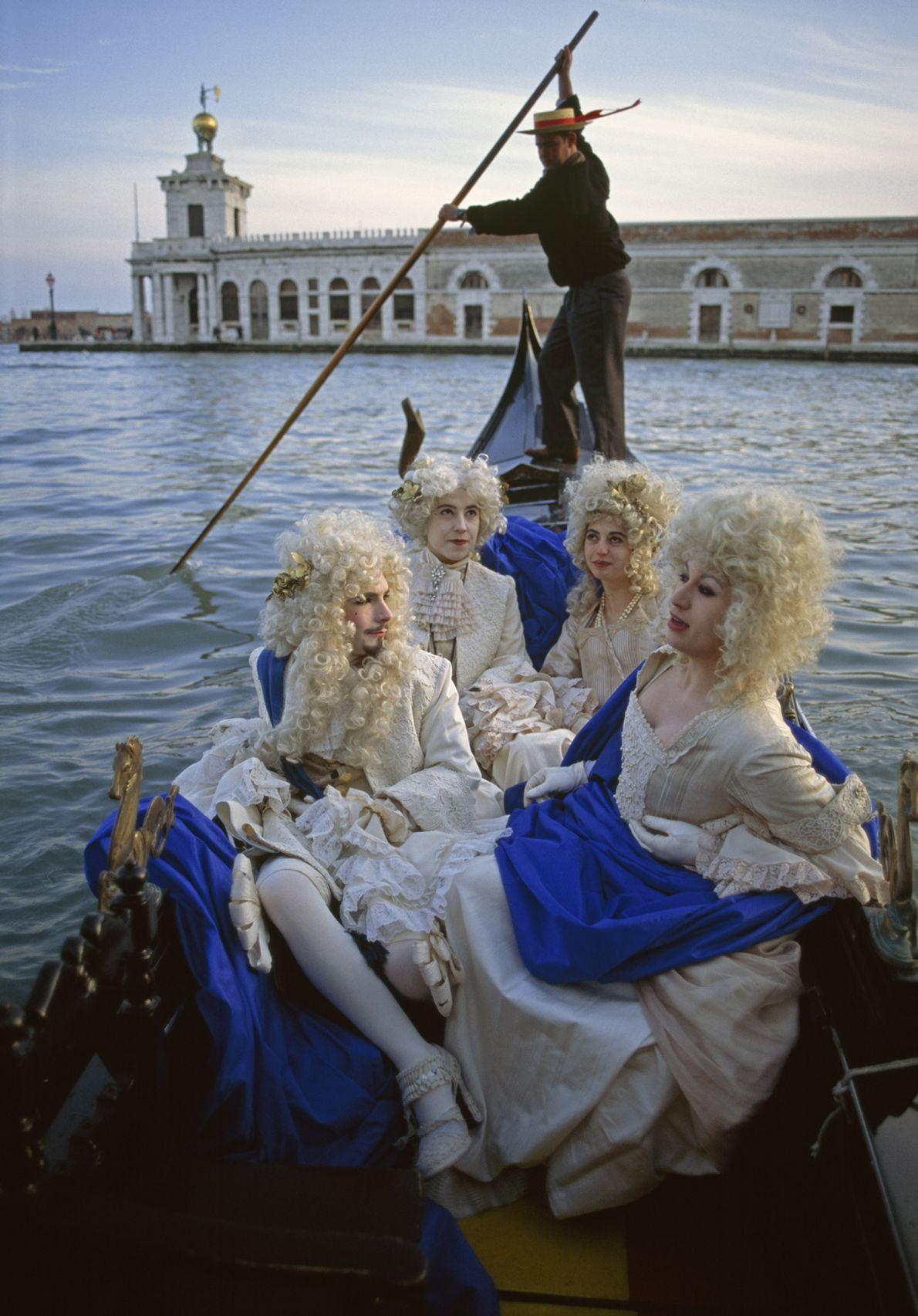 A Costumed Quartet