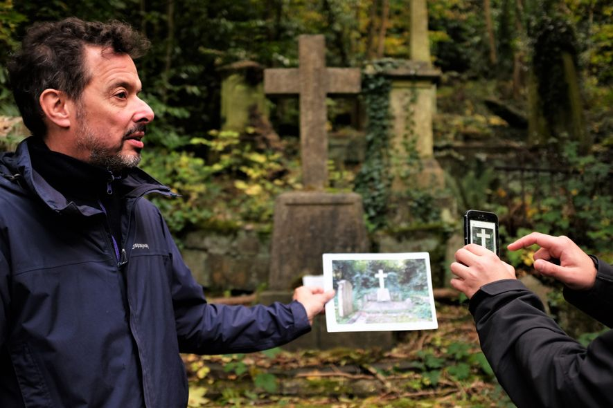 """Katie Thornton: """"Just as headstones weather and crumble, digital memorials also have a shelf life. After ..."""