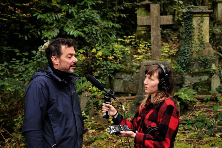 Katie Thornton interviews Jeremy Routledge, co-director of Calling the Shots media studio and the Future Cemeteries ...
