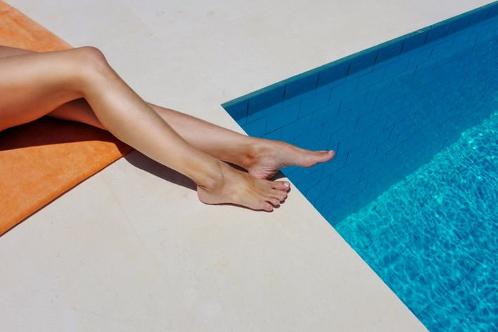 """""""The whole idea behind this series is to deconstruct the concept of summer and Menorca, an ..."""