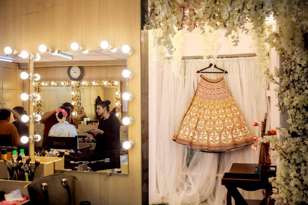 Your Shot photographer Pinkesh Sunilbhai Modi made this image behind the scenes of a wedding in ...
