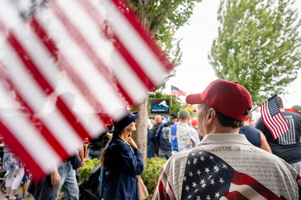 """""""The small border town of Blaine, Washington holds a parade every Fourth of July, writes Your Shot ..."""