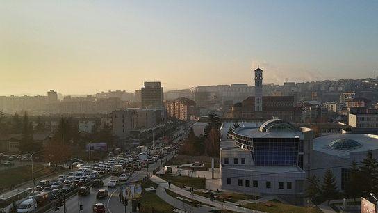 View of Prishtina.