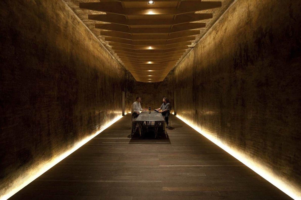 tasting room at Yalumba winery
