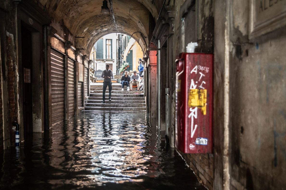 The city's long-term future remains uncertain in a world with rising seas.