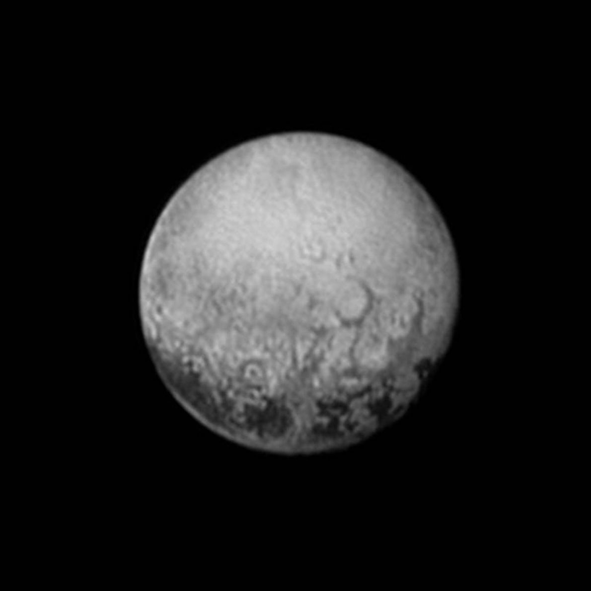 On July 11, 2015, New Horizons got its last look before the flyby at the side ...