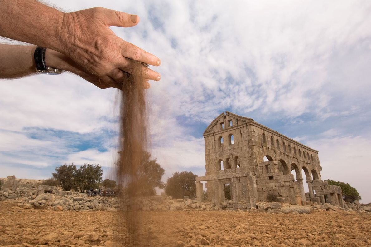 Barren soils surround the Dead Cities, dozens of abandoned, ancient Byzantine ruins that once held prosperous ...