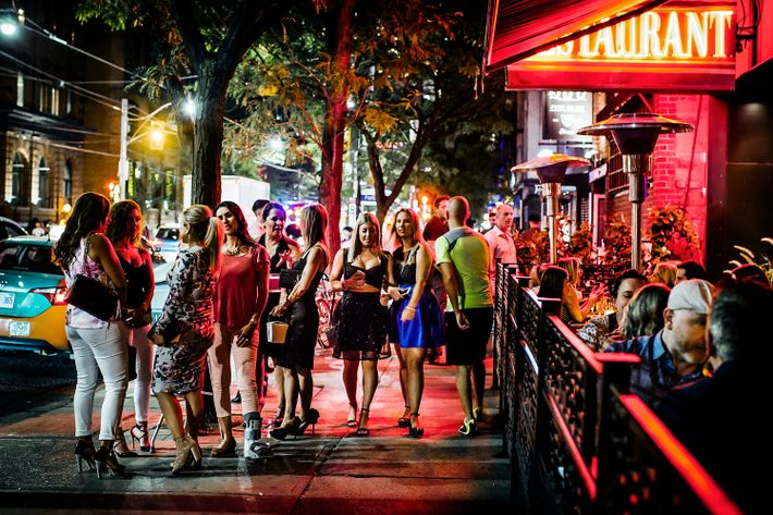 In the evening King Street is a gathering spot for the young and urbane, with enough ...