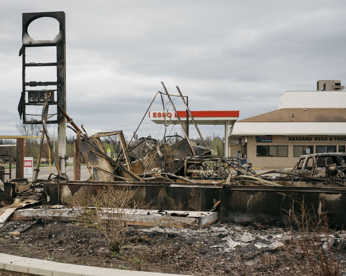 Fort McMurray heavily relied on oil for its economy. The fire is so severe that it ...