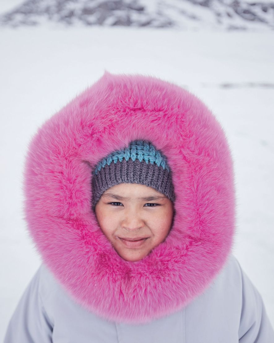Wearing a parka sewn by her mother, Ashley Hughes spent her 10th birthday camping with friends ...