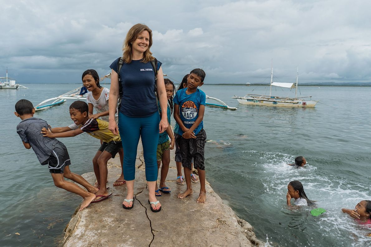 Koldeway gets to know Bohol's locals.