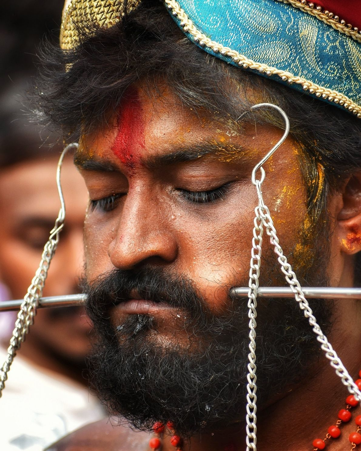 Your Shot photographer Asamanj Maiti photographed this devotee participating in the Vel Festival in West Bengal, ...