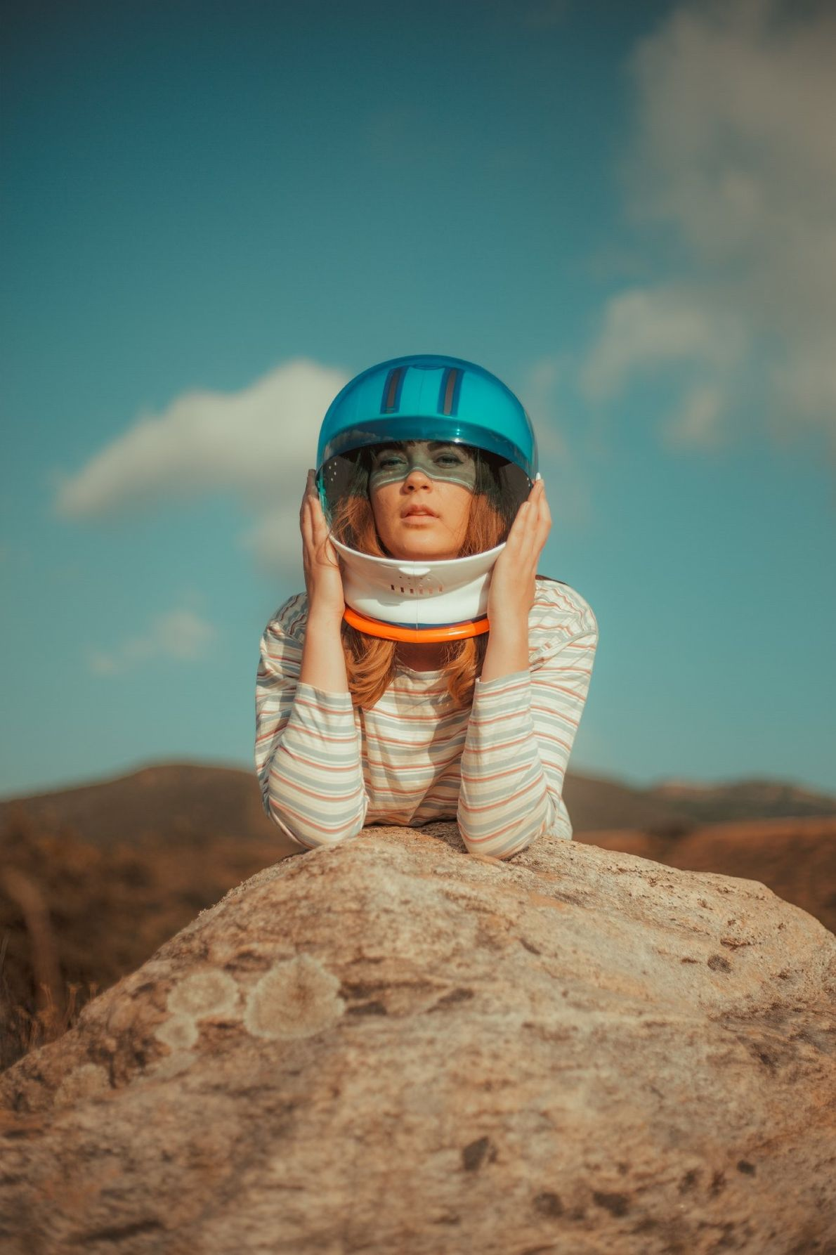 """""""I had this idea for an astronaut shoot for quite a while and was so excited ..."""