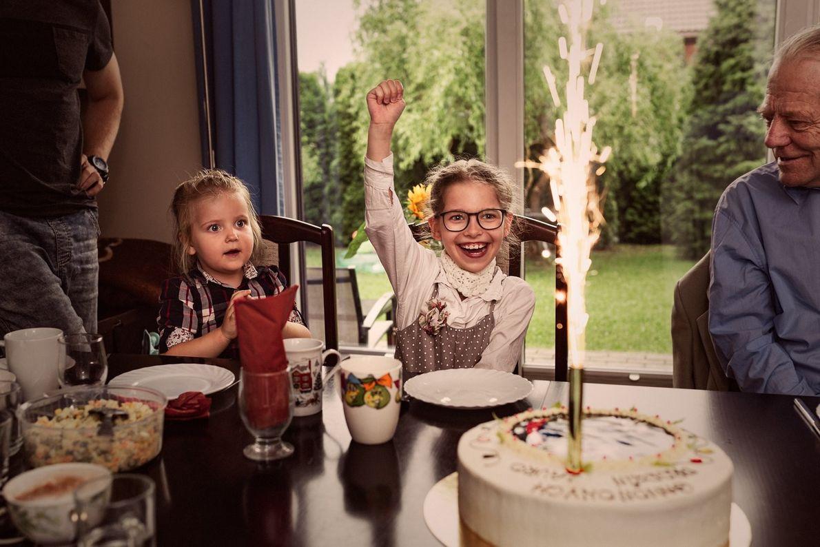 "Your Shot photographer Emilia Wilgosz-Peter documents her daughter Laura's nine birthday celebration. She writes, ""She was ..."