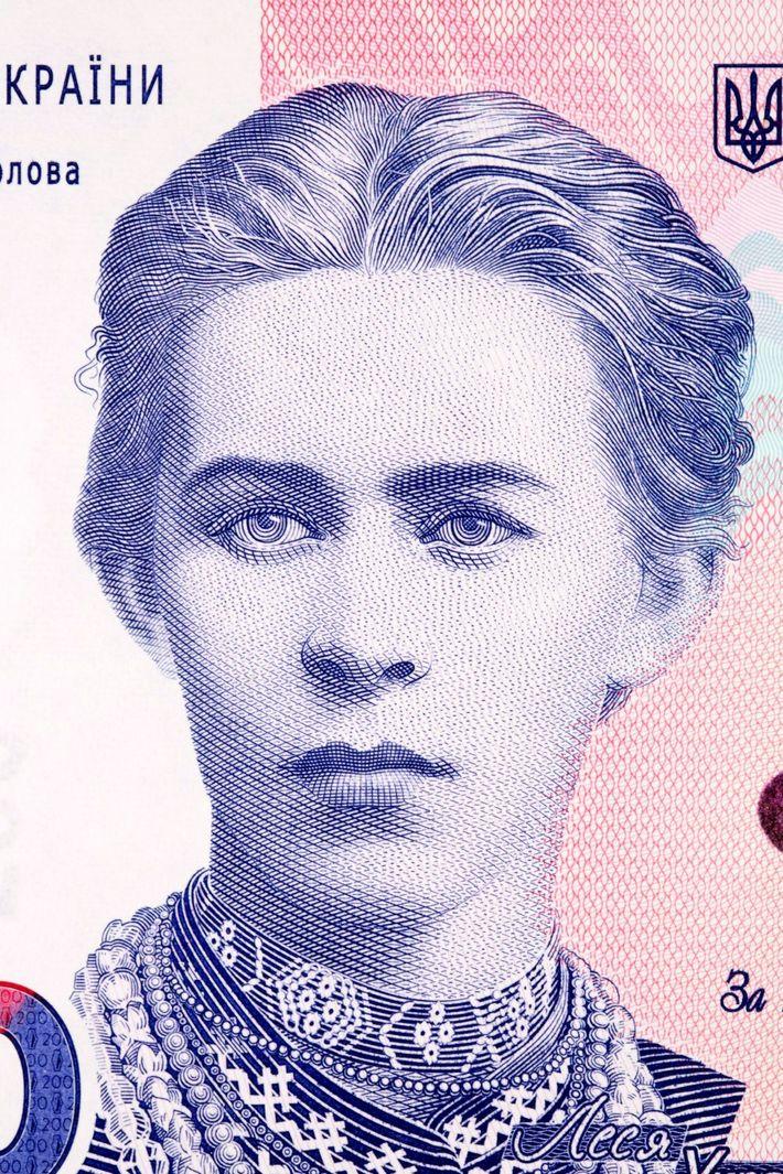In Ukraine, the 200-hryvnia banknote honors one of its foremost feminist writers, Lesia Ukrainka. The internationally ...