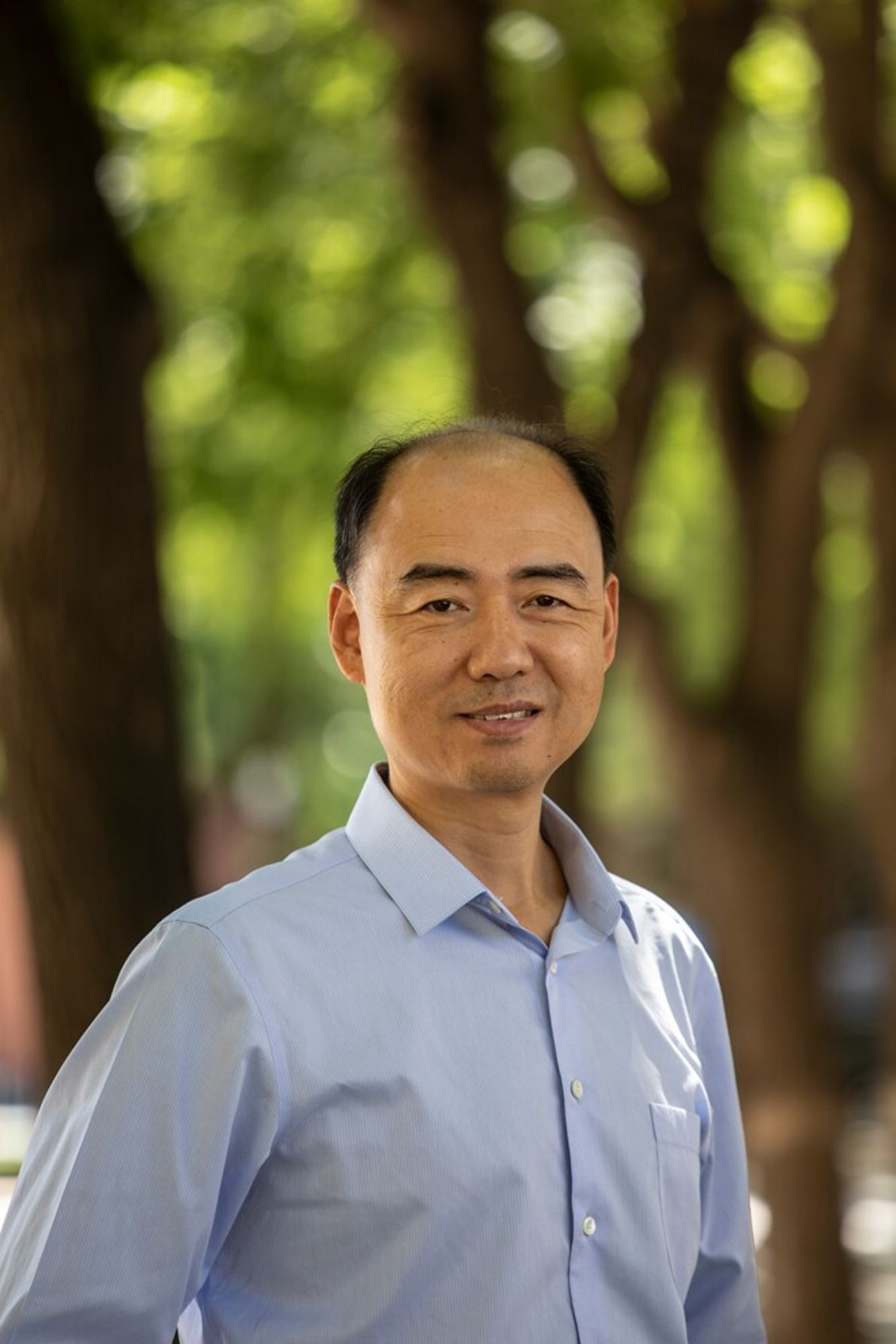 Ma Jun, environmentalist and creator of the Blue Map App.