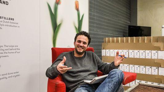 Meet the maker: Joris Putman, the man who produces vodka made from tulip bulbs