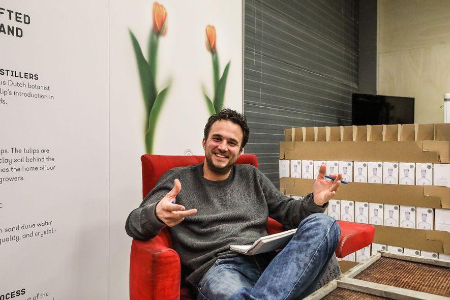 Meet the Maker: Joris Putman, tulip vodka producer