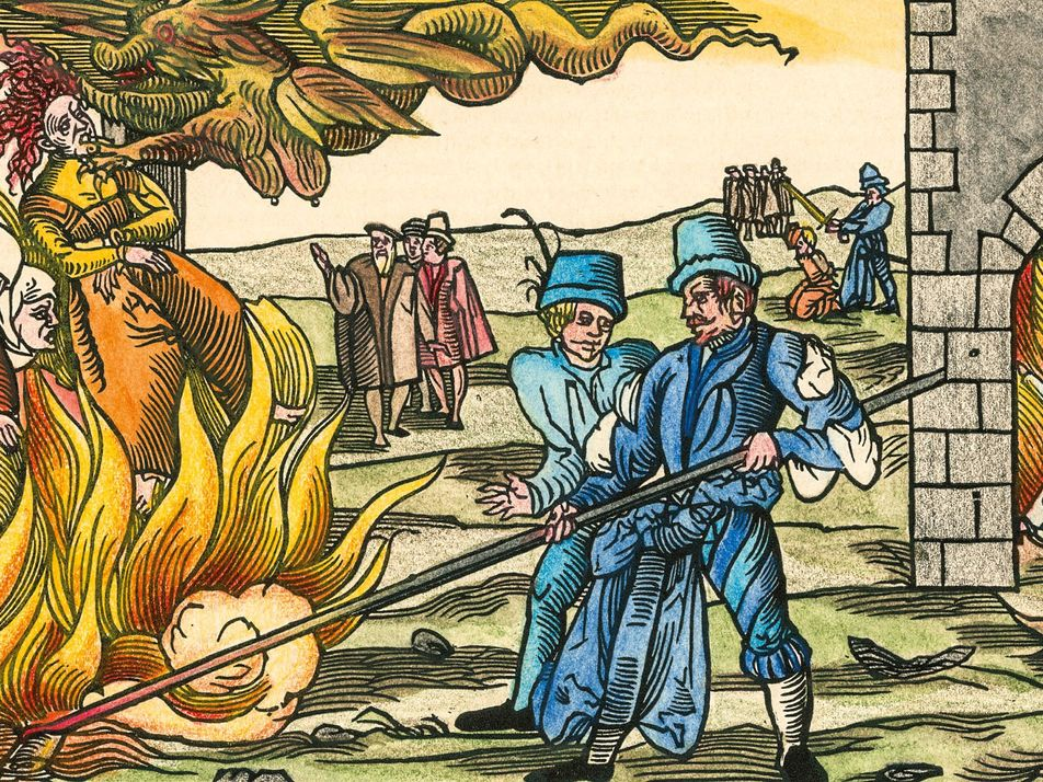 A royal obsession with black magic started Europe's most brutal witch hunts
