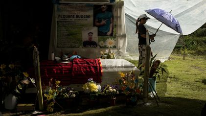 After a deadly typhoon, a send-off to the afterlife