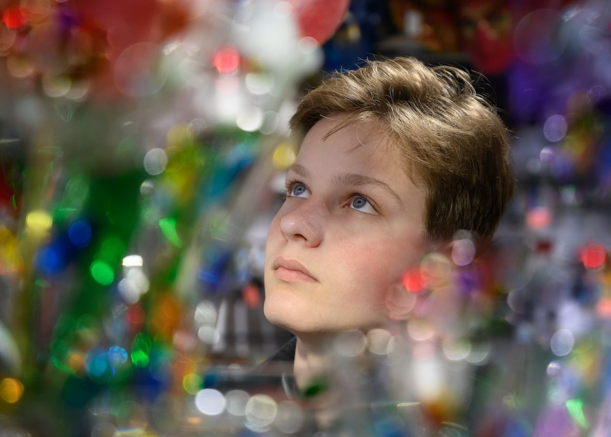 Your Shot photographer Irina Sigl made this portrait of her son while they were traveling in ...