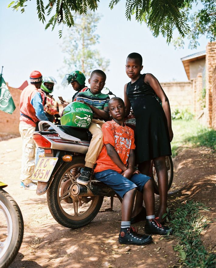 SafeMotos users are also orphan children that go to church every Sunday with SafeMotos. Their guardian ...