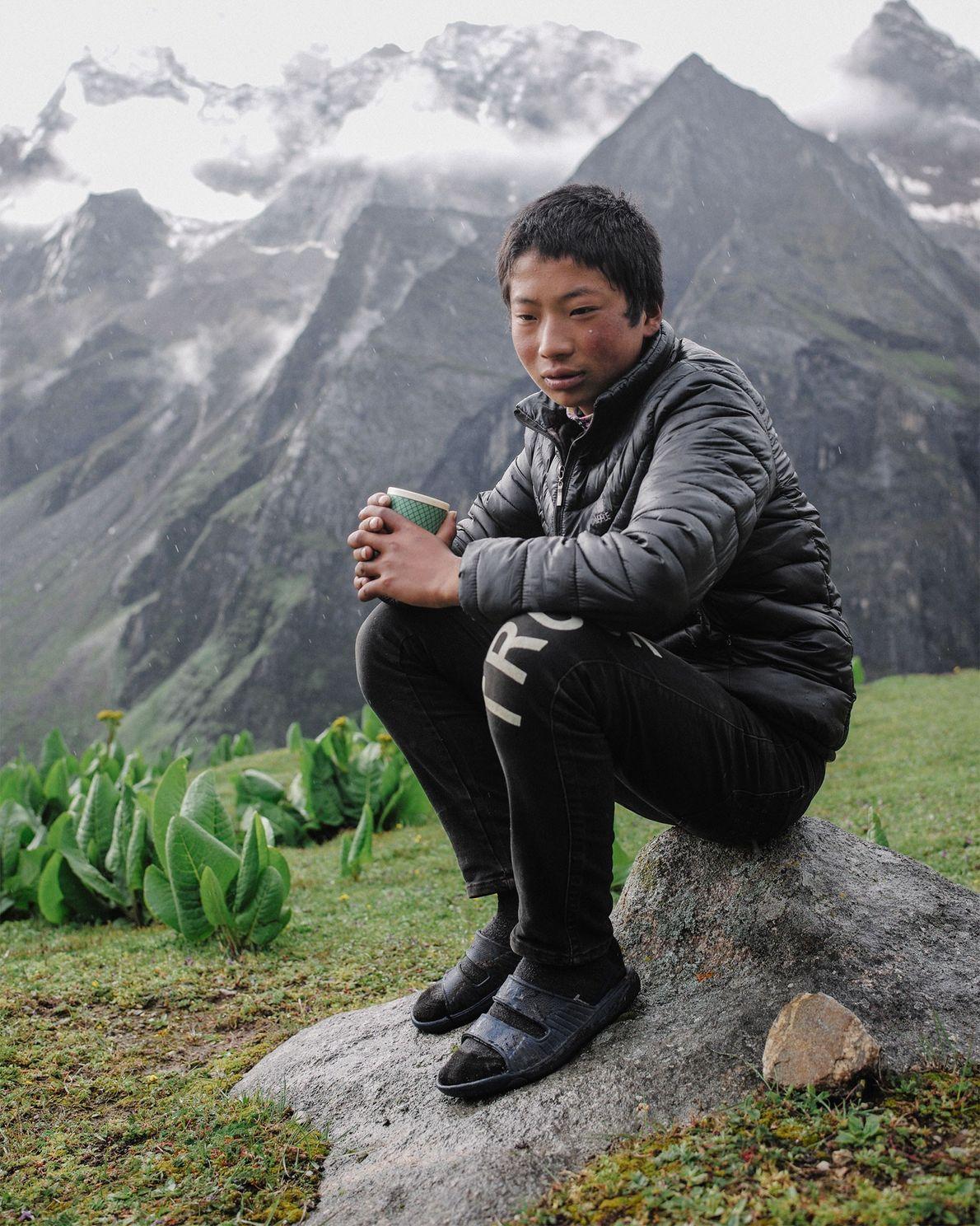 Fifteen-year-old Karma Tenzin is a 7th-grader in Laya. Unlike his nomadic yak-herding parents, Karma wants to ...
