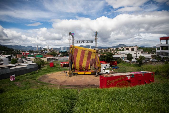 In mid-July, thanks to intervention by the Guatemalan president, the circus began to pack up. The ...