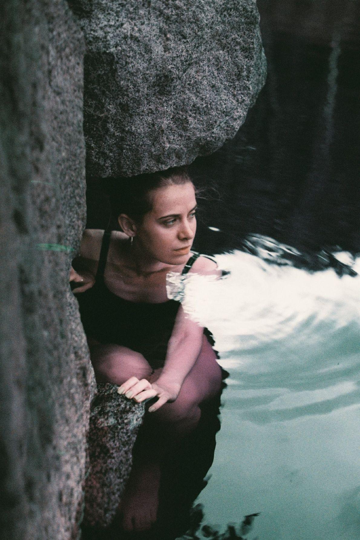 Your Shot photographer Yuliana Paranko made this portrait of Nastya in a quarry in Trygirya, Ukraine ...