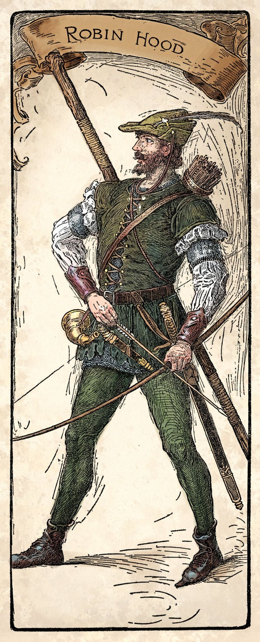 From the outset, Robin Hood was depicted as a rebel who pitted himself against authority. Even ...
