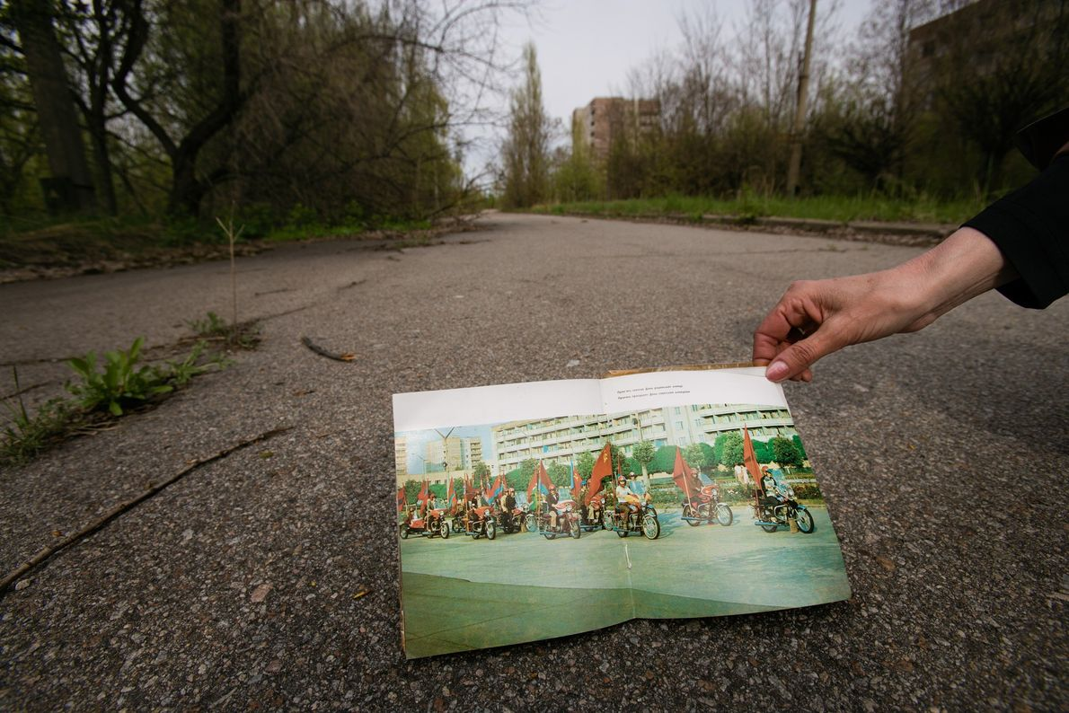 2005. The evacuated city of Pripyat, once brimming with life, is now a chilling ghost town. ...
