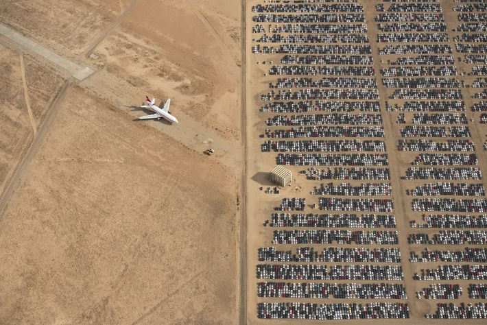 Your Shot photographer Jassen Todorox captured this aerial view in the middle of the California Mojave ...