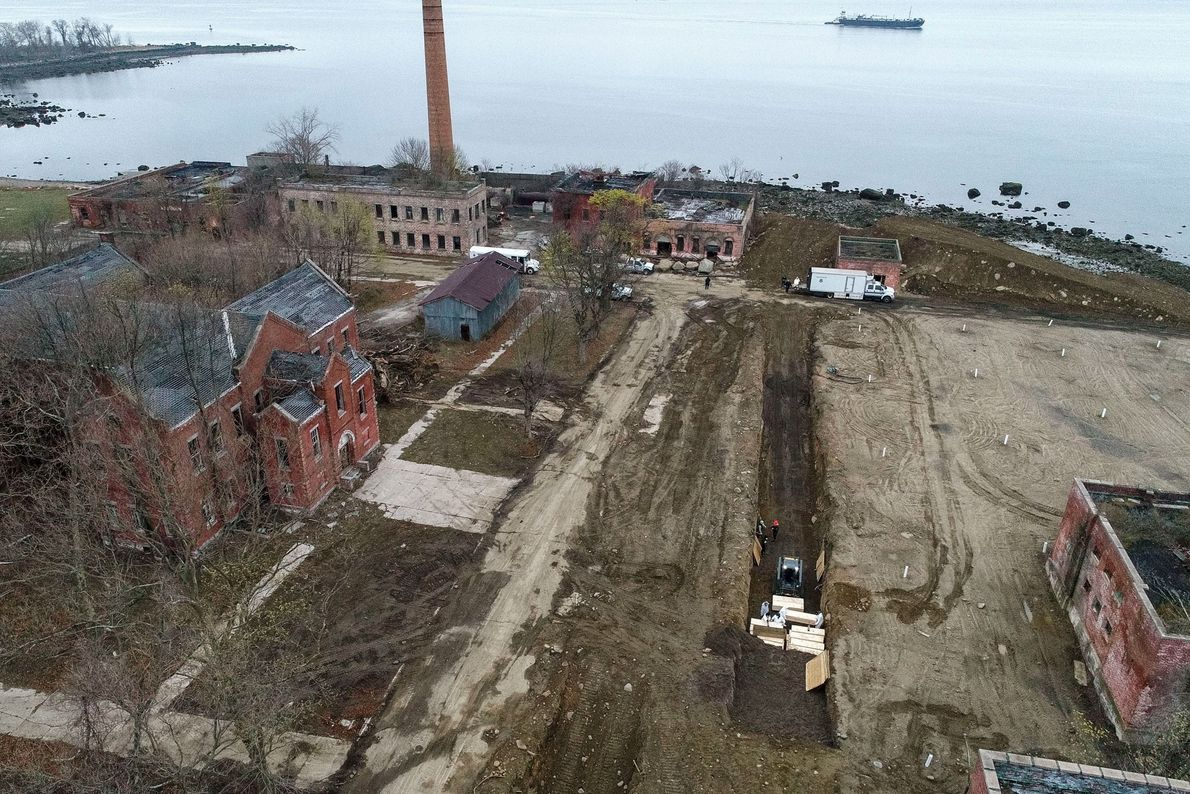 About a million people are buried on Hart Island, which is only a little over 100 ...