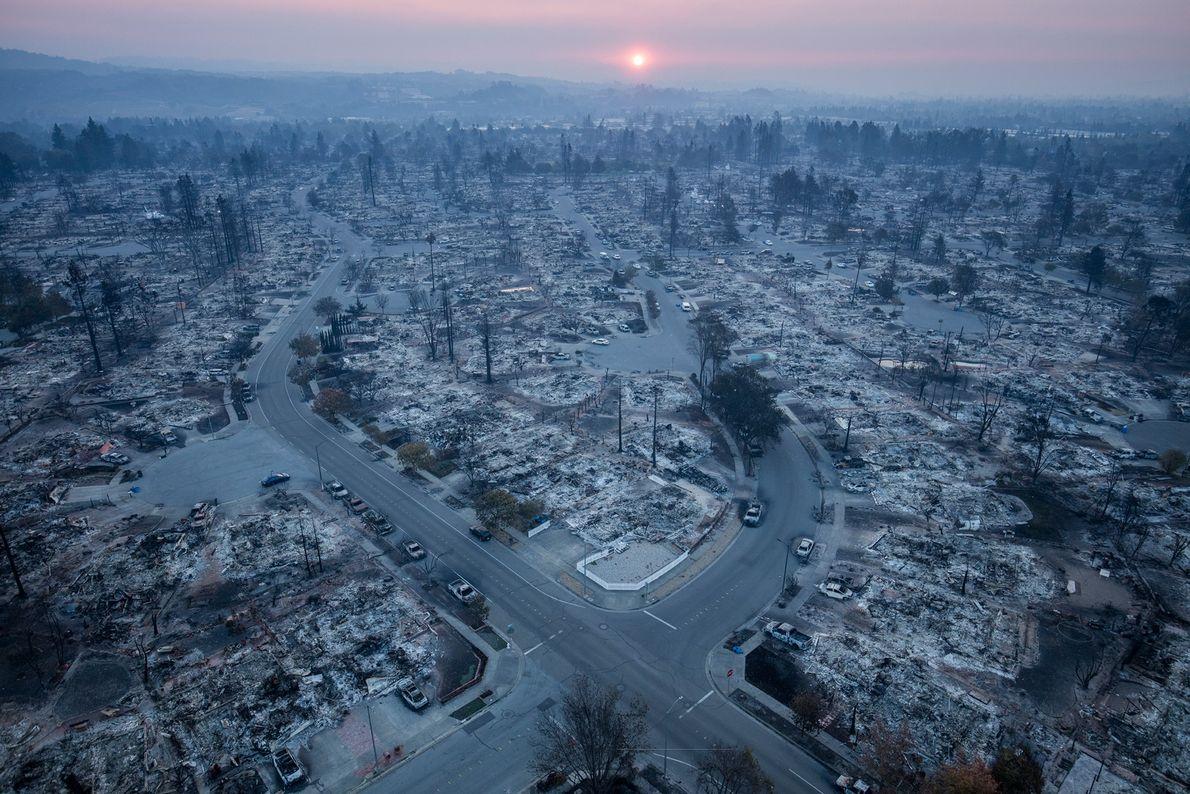 In October 2017 the Tubbs Fire virtually annihilated the suburban neighborhood of Coffey Park in Santa ...