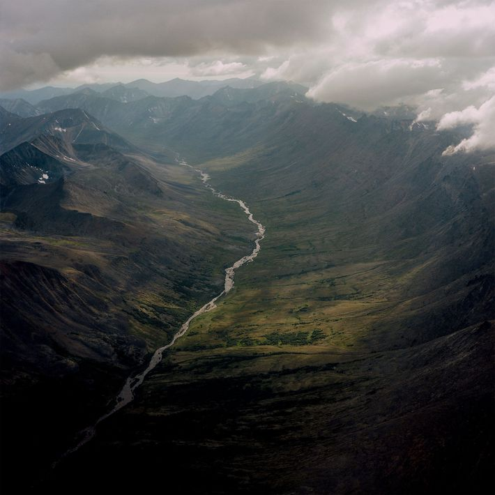 The Kigluaik Mountains between Nome and Shishmaref, Alaska.