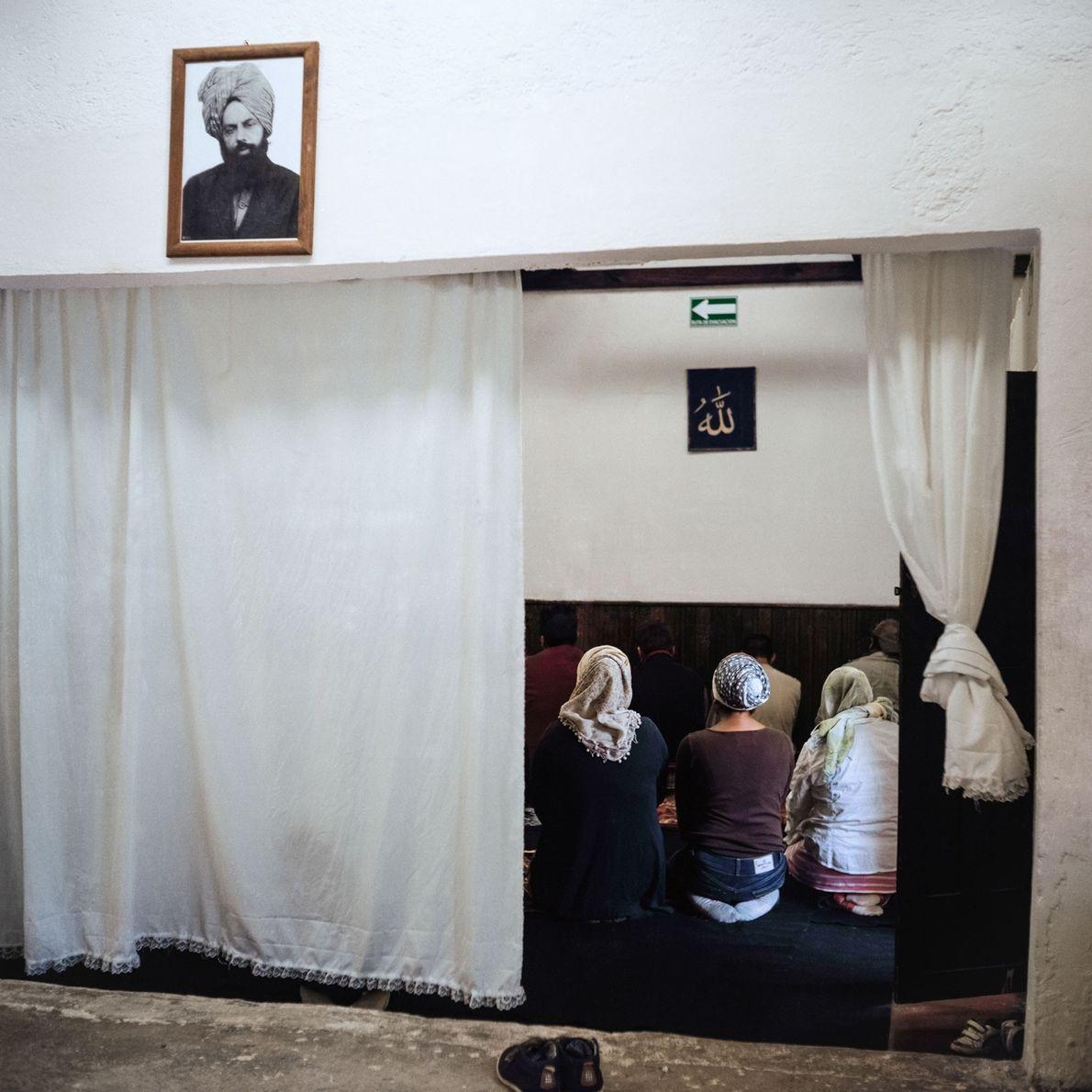 Adherents of Ahmadiyya, an Islamic movement born in India, pray in Mexico. The denomination doesn't consider ...